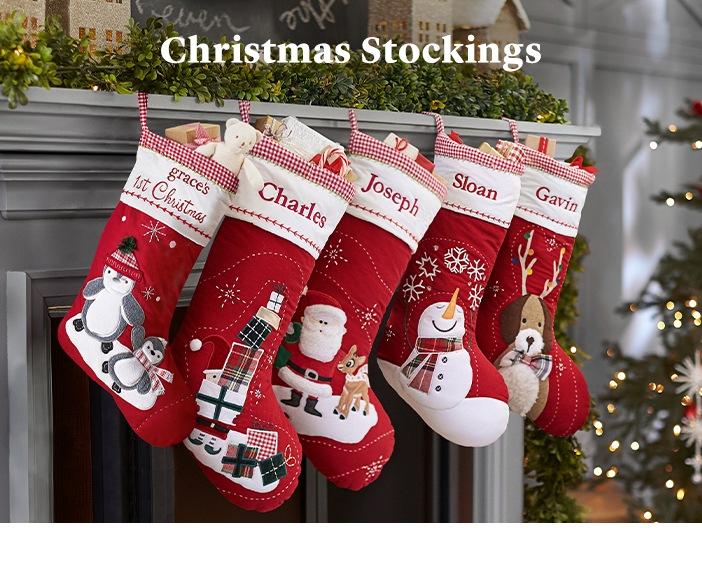 Christmas Stockings Pottery Barn Kids