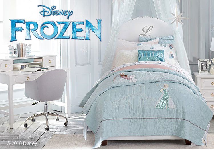 Disney Frozen Pottery Barn Kids, Frozen Bedroom Furniture