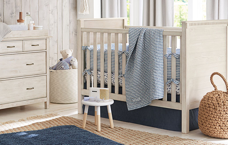 How To Decorate A Beach-Themed Baby Room | Pottery Barn Kids