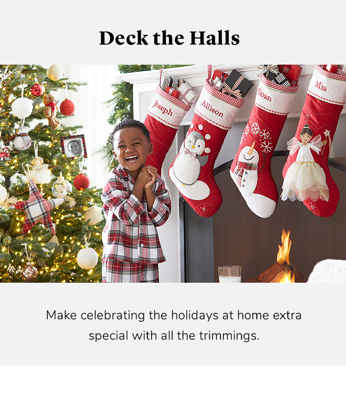 Holiday Decorations Christmas 2020 Decor Pottery Barn Kids