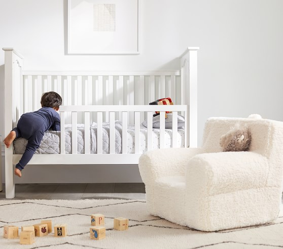Kendall Toddler Bed & Conversion Kit - Guardrail | Pottery ...