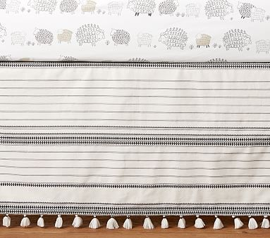 Sleepy Sheep Crib Skirt Pottery Barn Kids