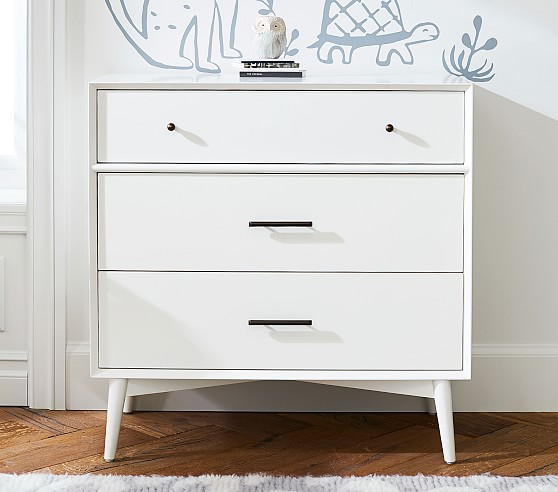 West Elm X Pbk Mid Century 3 Drawer