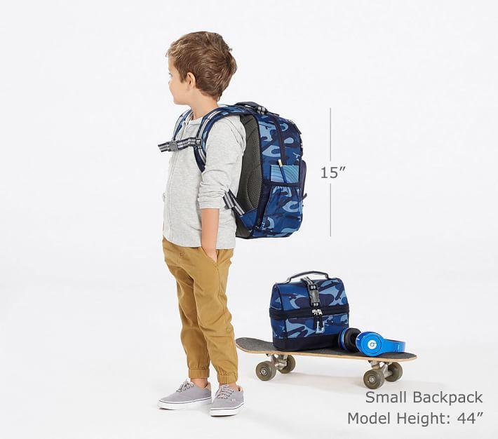 Mackenzie Navy Amp Blue Multi Whale Kids Backpack Pottery