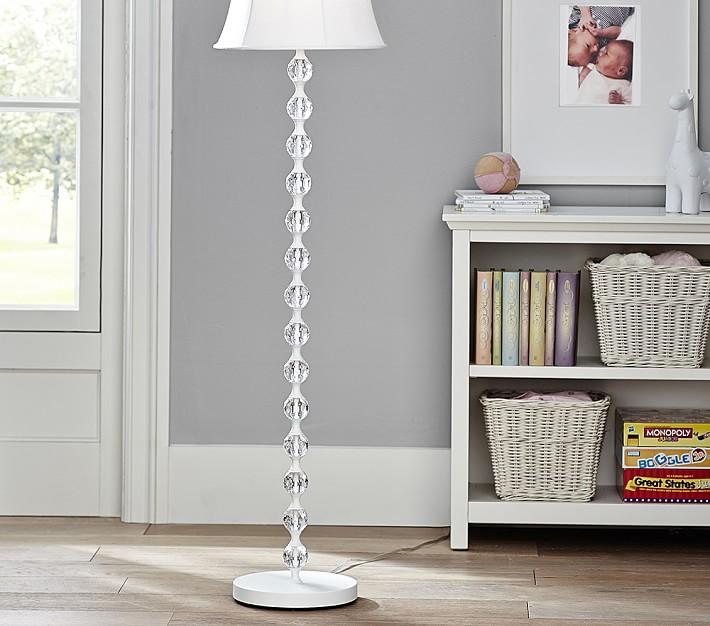 Stacked Crystal Kids Floor Lamp Base