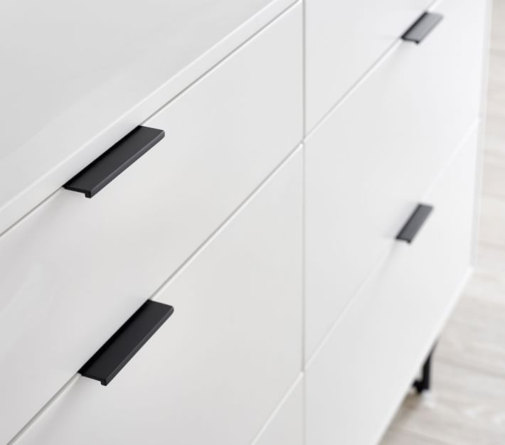 Ellis Extra Wider Modern Changing Table Dresser And Topper