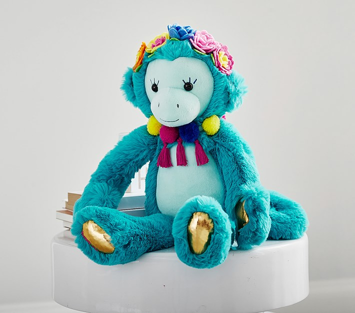 Plush Lilly Pulitzer Cheeky Monkey Kids Stuffed Animal