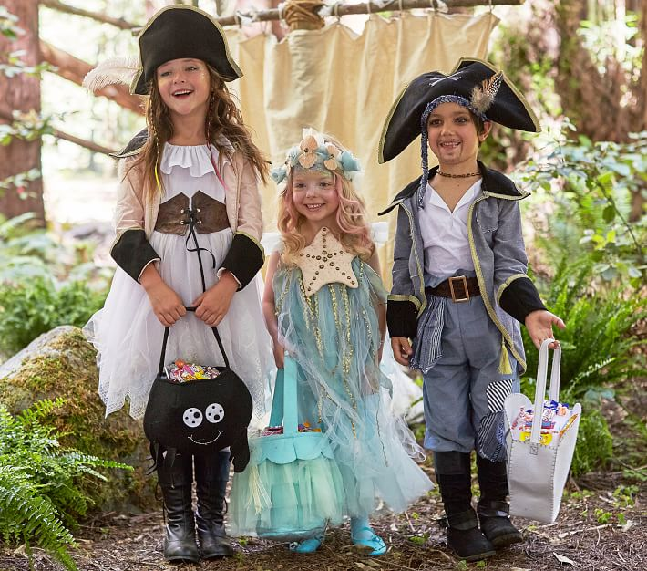 Over The Top Blue Kids Pirate Costume Pottery Barn Kids