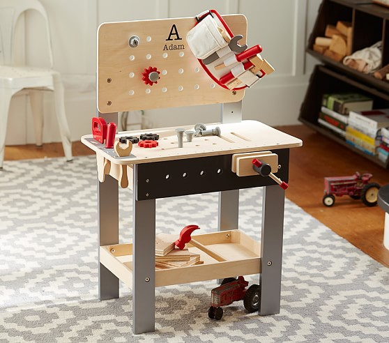 Personalized Kids Woodwork Bench Pottery Barn Kids