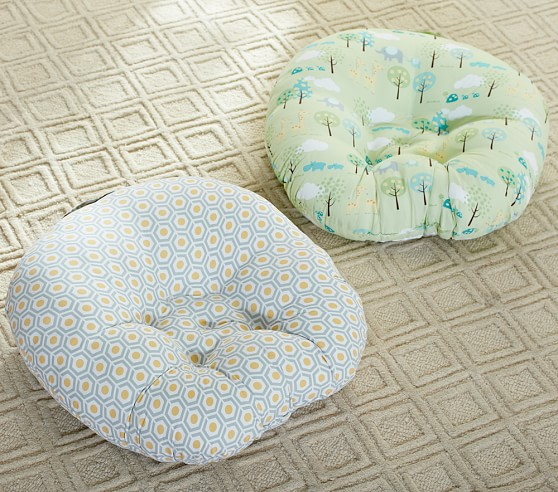 Newborn Lounger Pillow Cover for Baby Boys /& Girls Gold Dots Collection