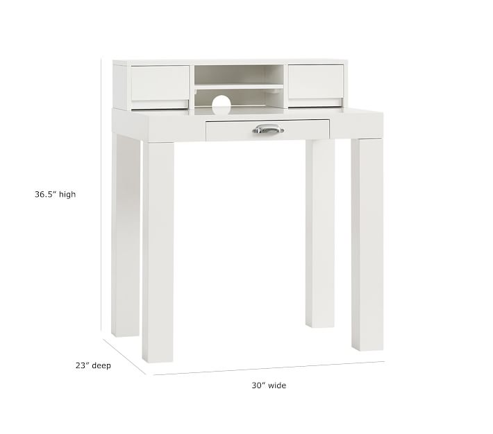 Parsons Mini Kids Desk Amp Hutch Pottery Barn Kids