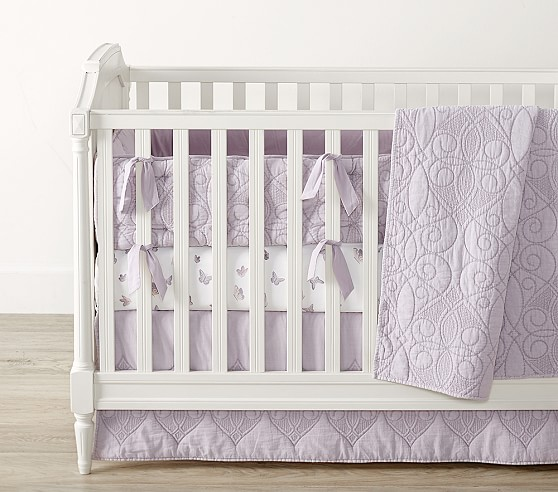 Washed Cotton Baby Bedding Crib