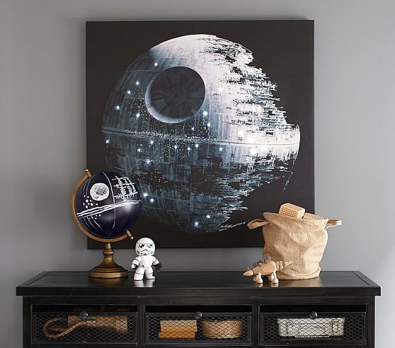 Star Wars Led Stretched