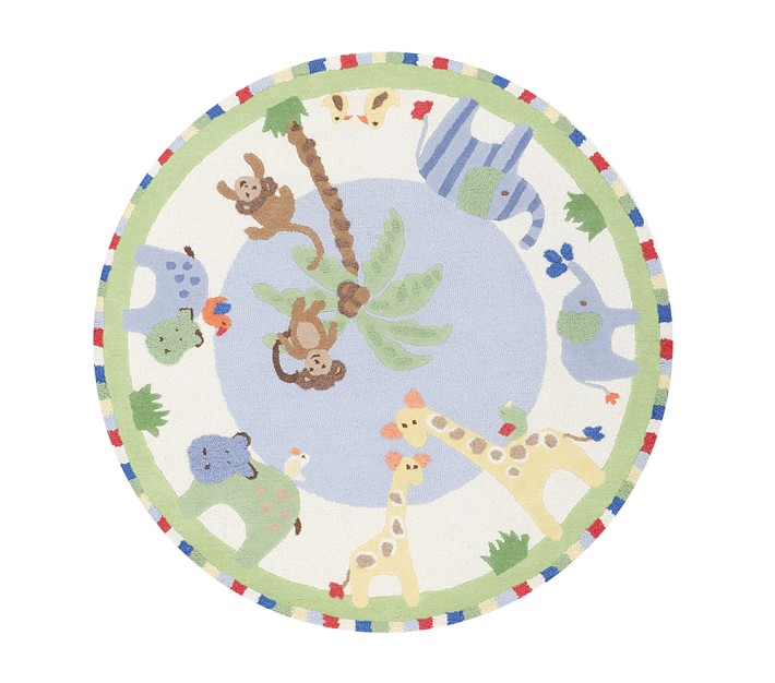Jungle Friends Rug Patterned Rugs