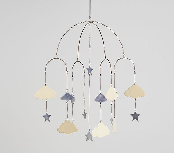 Stars Cloud Ceiling Baby Mobile