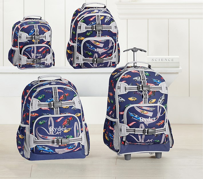 Nautical Ships Pattern TM School Backpack