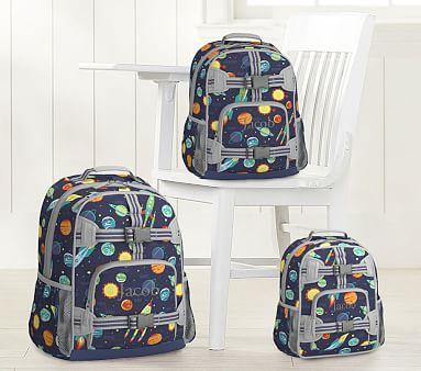 Navy Solar System Kids Backpack Pottery Barn Kids