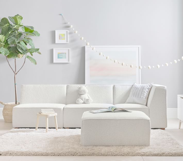 Build Your Own Riley Lounge Set Kids Sofa Pottery Barn