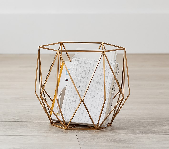 Shop Metal Prism Storage, Small from Pottery Barn Kids on Openhaus