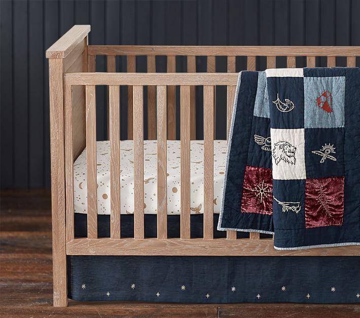 Harry Potter Enchanted Night Sky Baby Bedding Crib