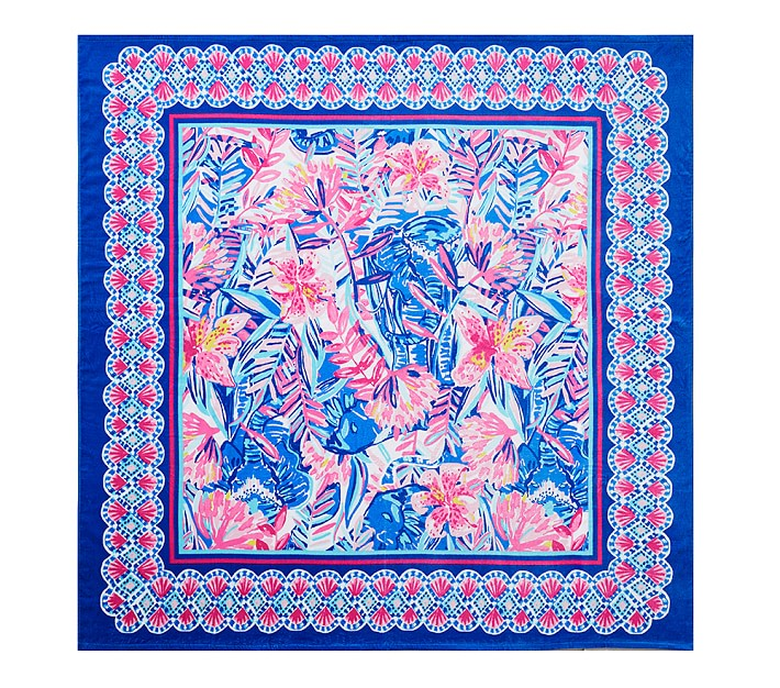 Lilly Pulitzer Slathouse Soiree Double Wide Beach Towel