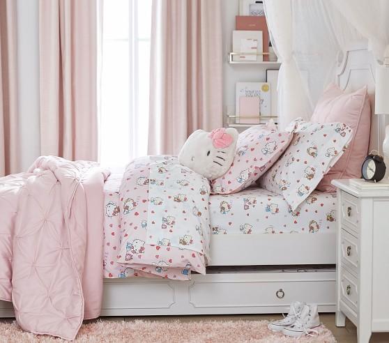 Organic Hello Kitty Duvet Cover