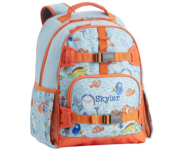 SMALL Finding Nemo Dory Mackenzie Backpack NWT! Pottery Barn Kids