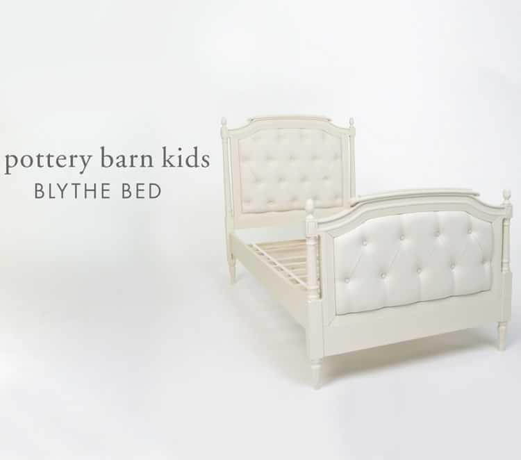 Blythe Tufted Kids Bed | Pottery Barn Kids
