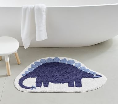 Dino Bath Mat Pottery Barn Kids