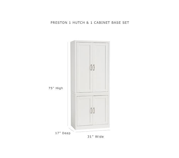 Preston Wall Cabinet Sets Playroom Storage Pottery