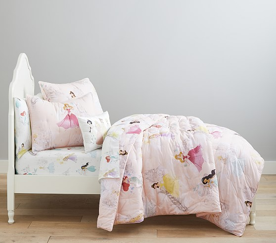 DISNEY PRINCESS PRINCESSES Embroidered FLEECE BLANKET Bedding 30 x 40 NEW!!