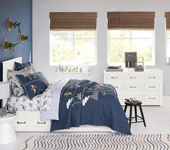 belden twin storage bed with headboard