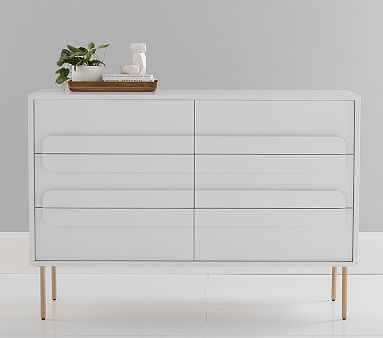 West Elm X Pbk Gemini 6 Drawer Modern