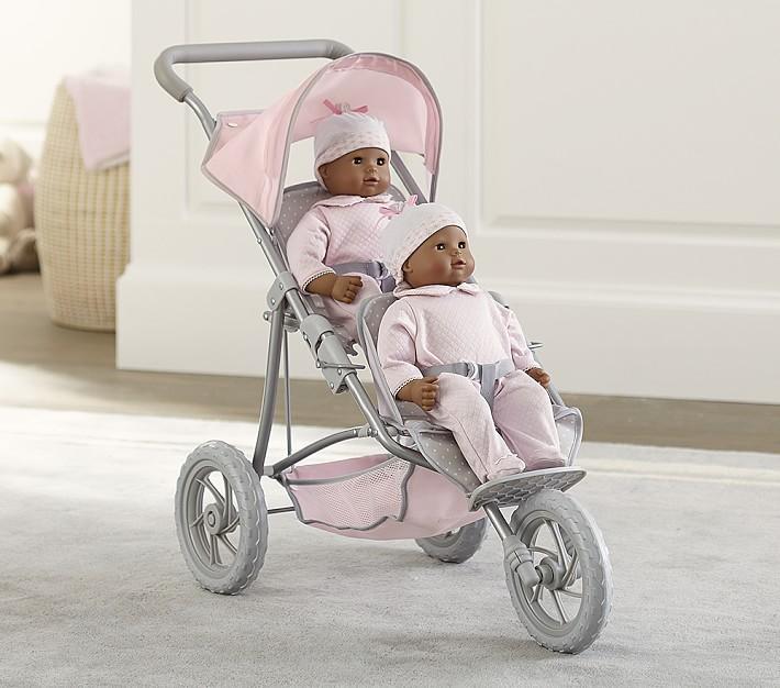 double doll jogging stroller o