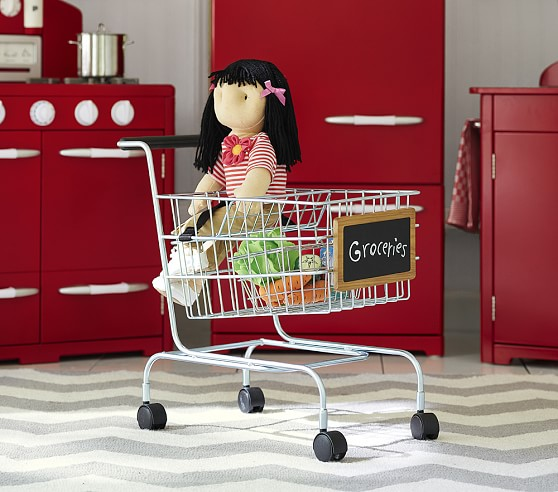 Shop Metal Shopping Cart from Pottery Barn on Openhaus