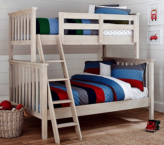Twin Over Full Kids Bunk Bed Pottery Barn Kids