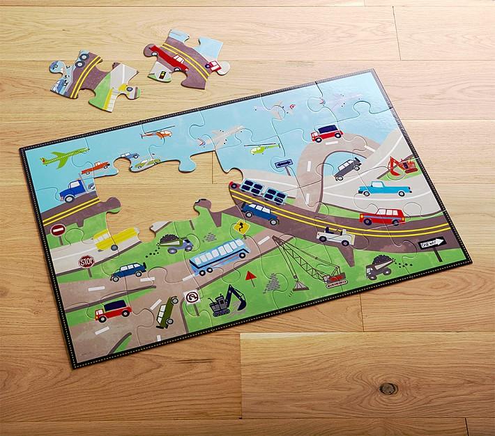 Transportation Floor Puzzle Kids Toys Pottery Barn Kids