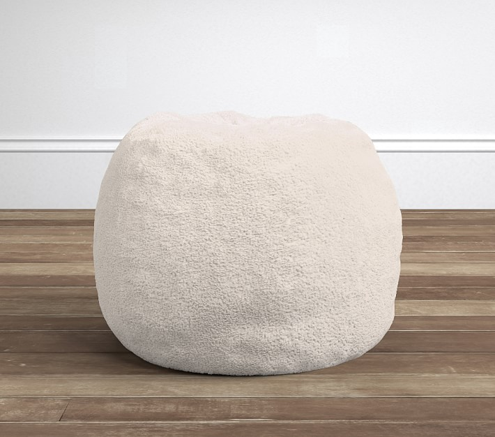 Sherpa Anywhere Beanbag Kids Bean Bag Chairs Pottery Barn Kids