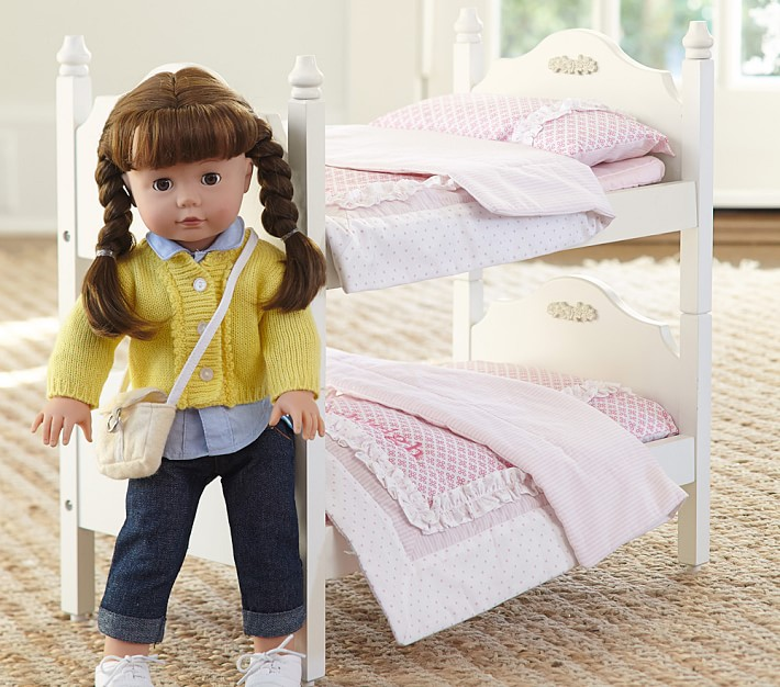 Doll Bunk Bed Bedding Pottery Barn Kids