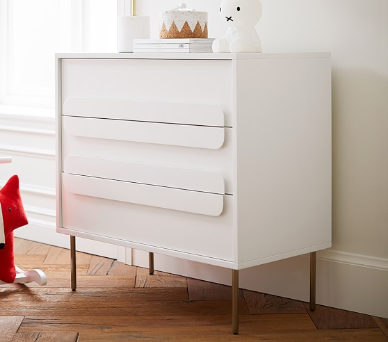 West Elm X Pbk Gemini 3 Drawer Modern