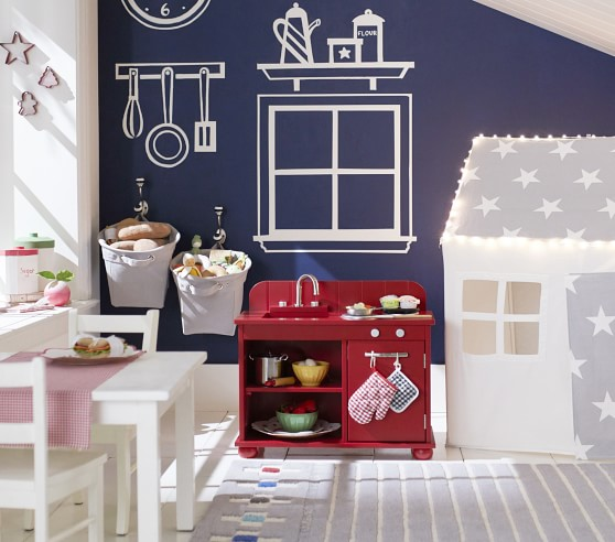 My First Play Kitchen Pottery Barn Kids