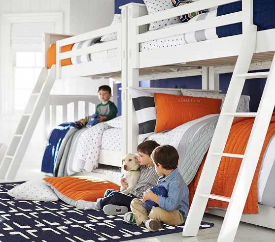 Kendall Twin Over Twin Kids Bunk Bed Pottery Barn Kids