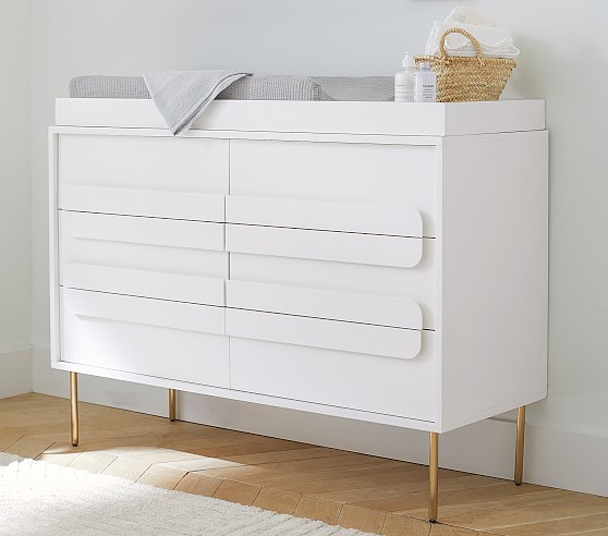 Gemini 6 Drawer Dresser Topper