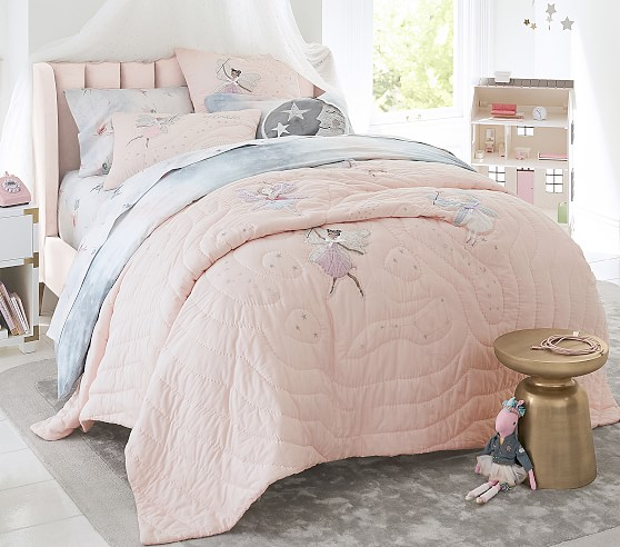 Avalon Kids Upholstered Bed Pottery Barn Kids
