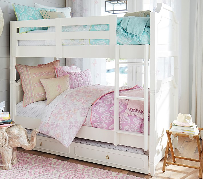 Ava Regency Twin Over Twin Kids Bunk Bed Pottery Barn Kids