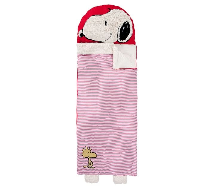 Snoopy 174 Kids Sleeping Bag Pottery Barn Kids
