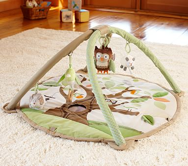 Owl Baby Activity Gym Baby Toy Pottery Barn Kids