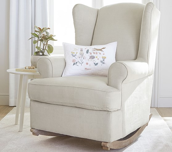 Wingback Convertible Rocking Chair