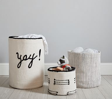 Black and White Storage Collection