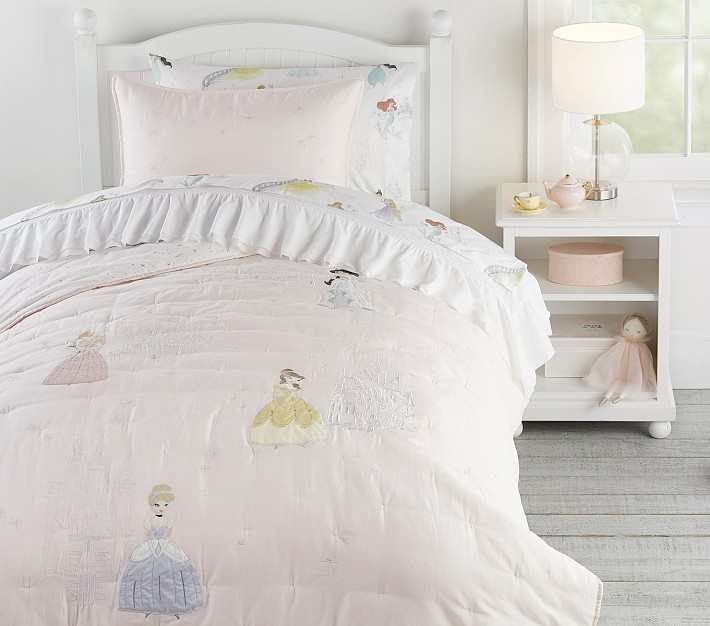 Disney Princess Kids Comforter Set Pottery Barn Kids